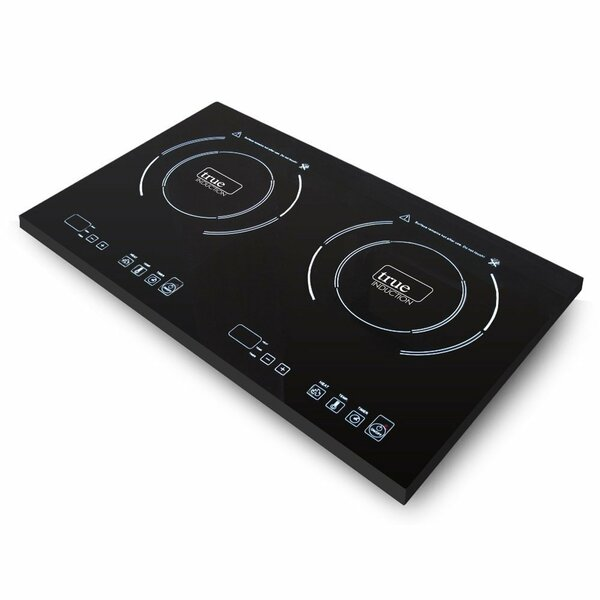 24 Induction Cooktop with 2 Burners by True Induction
