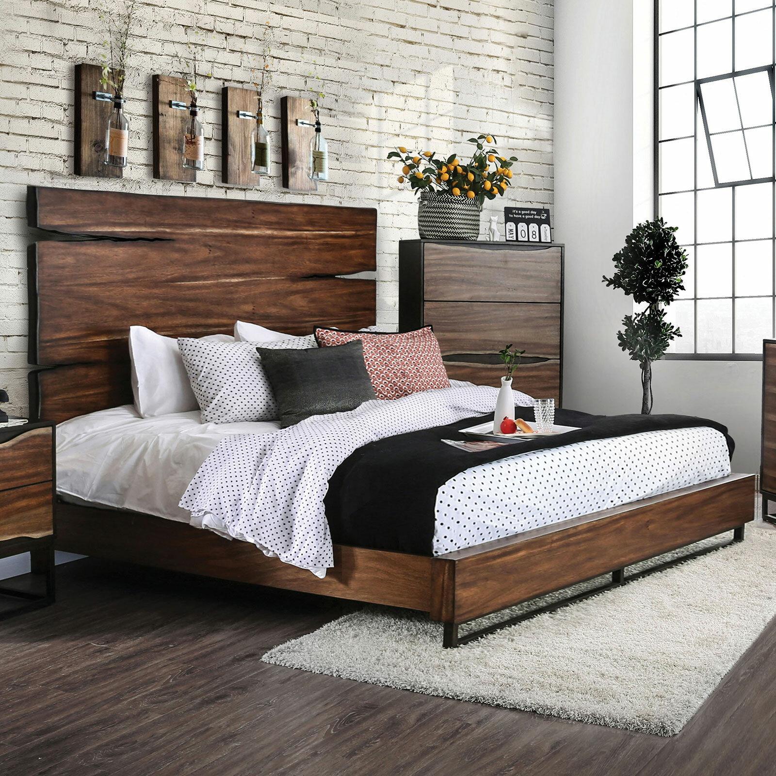 Foundry Select Savoie Wooden Platform Bed Wayfair