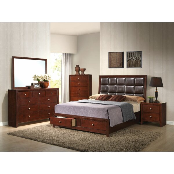 Alexei Platform Configurable Bedroom Set by Alcott Hill
