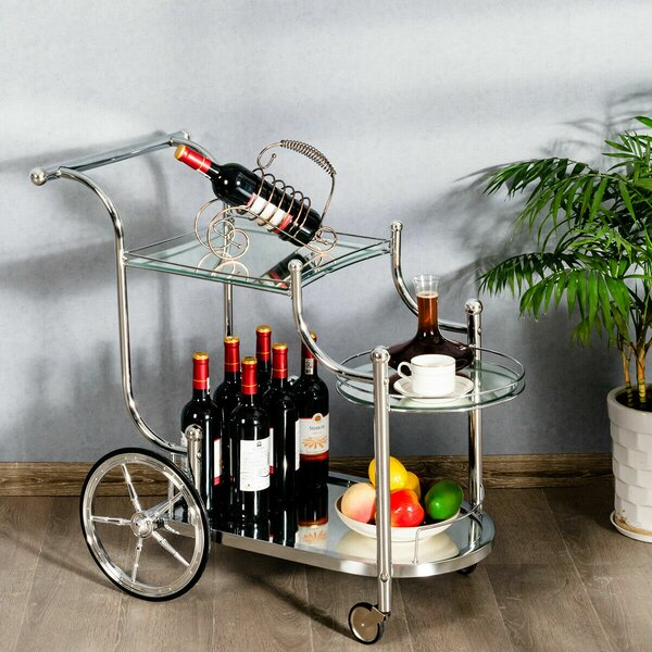 Nishant Serving Kitchen Bar Cart By Latitude Run