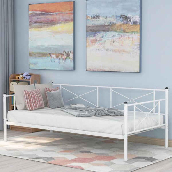Zahir Twin Metal Daybed by Williston Forge Williston Forge