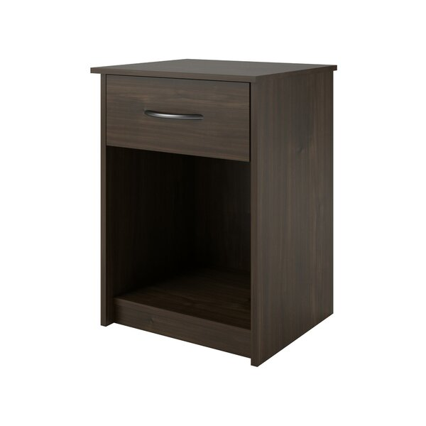 Shelley 1 Drawer Nightstand by Laurel Foundry Mode