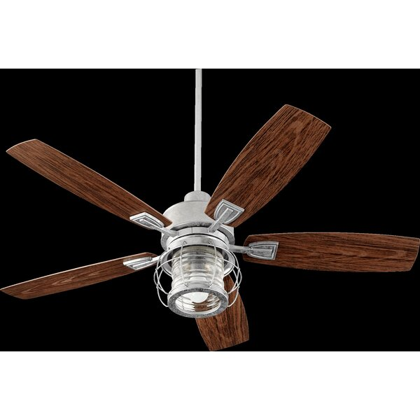 52 Glazer 5-Blade Ceiling Fan by Breakwater Bay