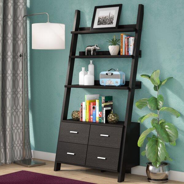 Berkman Dark Cappuccino Ladder Bookcase by Zipcode Design