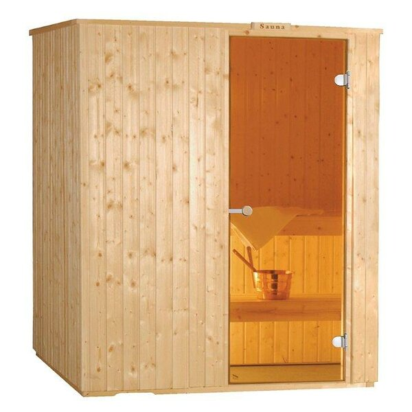 Baltic Leisure 2 Person Traditional Steam Sauna by Baltic Leisure