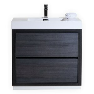 Tenafly 36 Single Free Standing Modern Bathroom Vanity Set