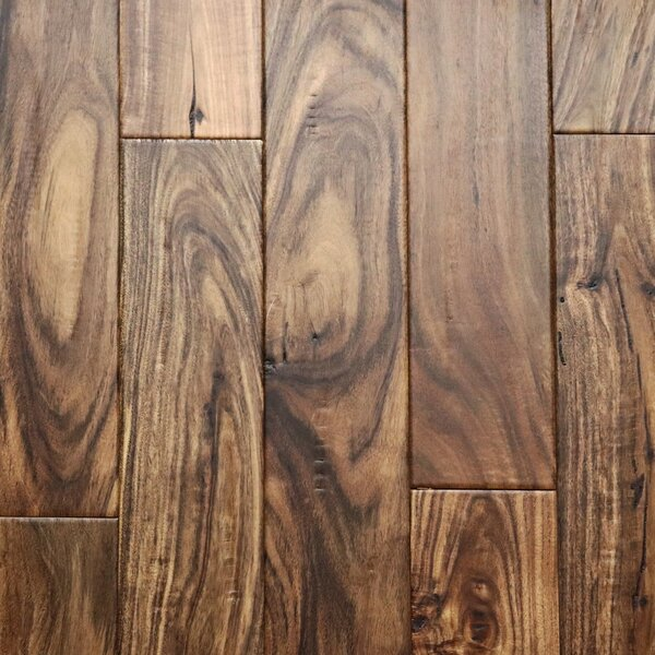4-3/4 Engineered Acacia Hardwood Flooring in Tan by CFS Flooring
