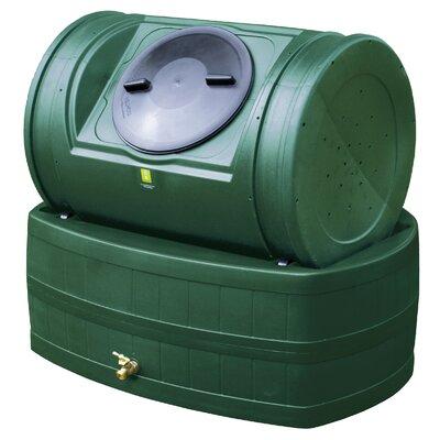 Compost Wizard 47 Gallon Rain Barrel Good Ideas Color: Green