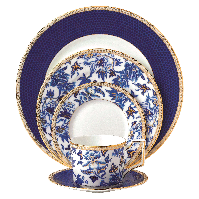 Hibiscus Bone China 5 Piece Place Setting Service for 1  sc 1 st  Wayfair & Bone China Dinnerware Sets You\u0027ll Love | Wayfair