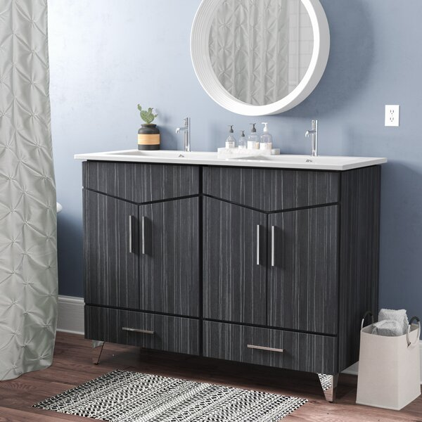 Keels 48 Double Bathroom Vanity Set by Orren Ellis