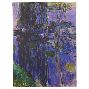 'Lavender Water Lilies' by Claude Monet Painting Print on Wrapped Canvas by Alcott Hill