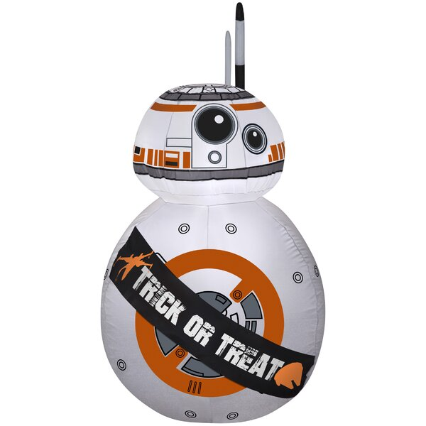 BB-8 Inflatable with Banner SM Star Wars by The Holiday Aisle