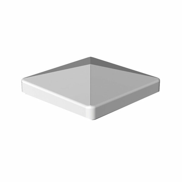 4x4 Flat Post Top by Xpanse Select Vinyl Railing