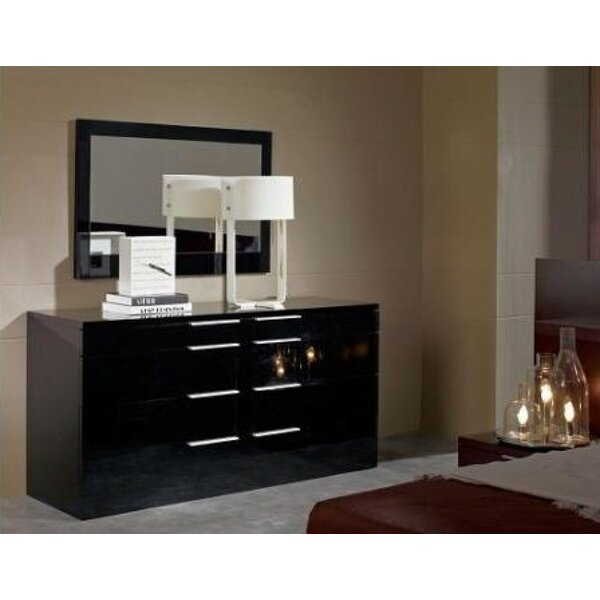 Great price Canipe Night 8 Drawers Double Dresser By Orren Ellis 2019 Coupon