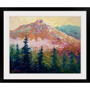 Mountain Sentinel by Marion Rose Framed Painting Print by Great Big Canvas