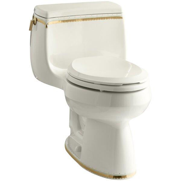 Memoirs 1.28 GPF Comfort Height Elongated Toilet 1 Piece by Kohler