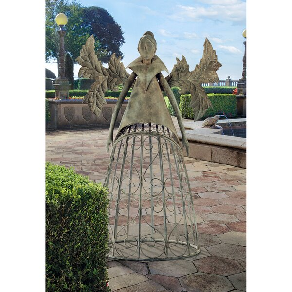 Tempest the Metal Garden Steel Gothic Trellis by Design Toscano