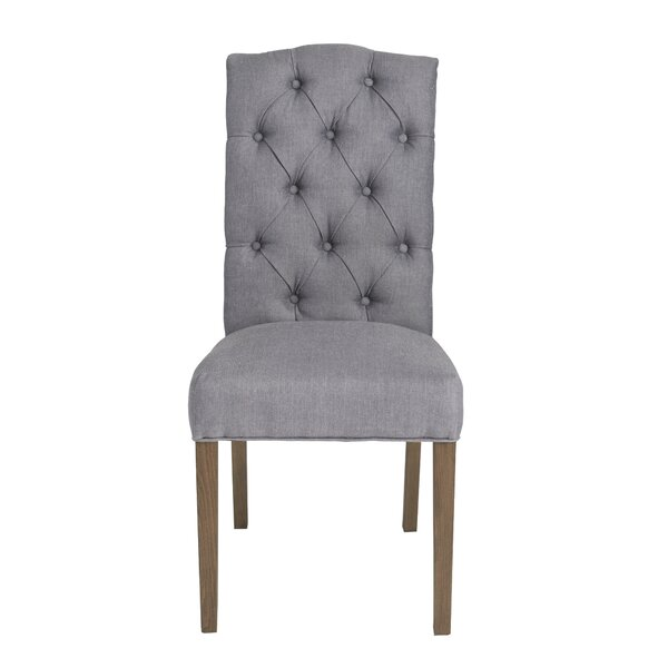 Dunster Upholstered Dining Chair (Set of 2) by Charlton Home