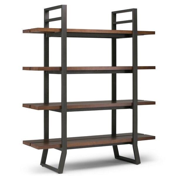 Ryley Industrial Etagere Bookcase by 17 Stories