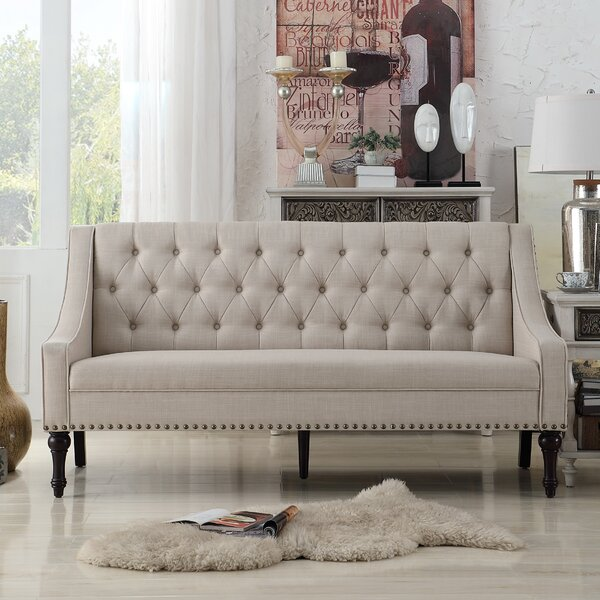 Chic Jamila Sofa by Three Posts by Three Posts