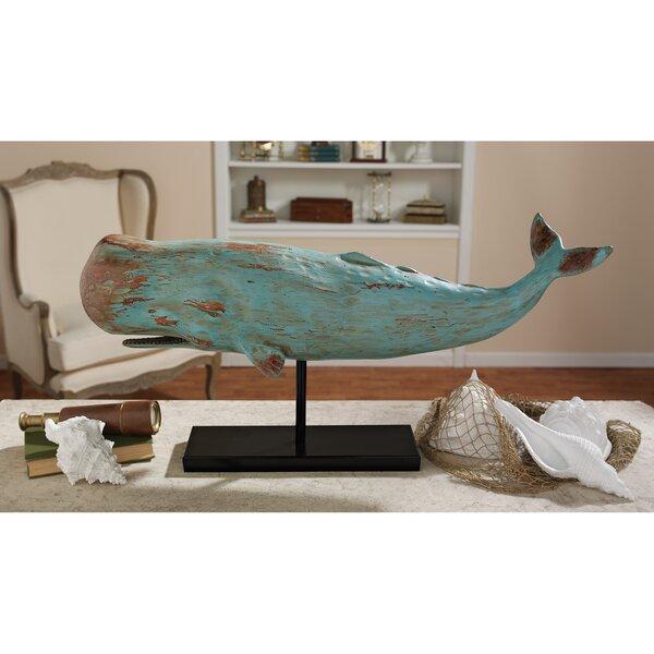 Folk Art Whale Statue by Design Toscano