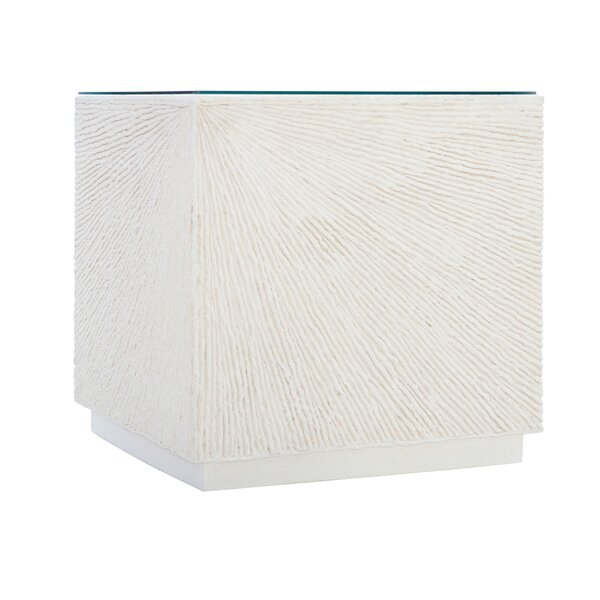 Bernhardt Exteriors Tenerife Coco Twig Cube End Table