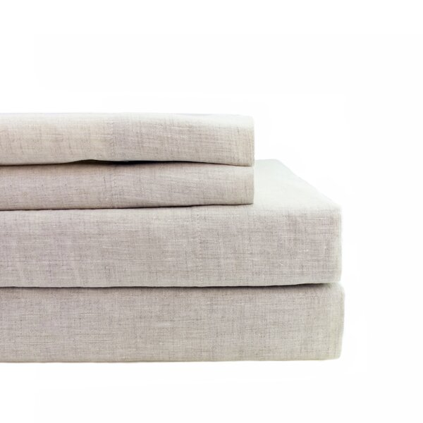 Villalba Self Hem 4 Piece Sheet Set by Gracie Oaks