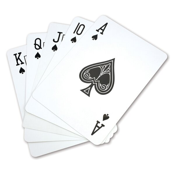 Super Jumbo Playing Cards by Kovot