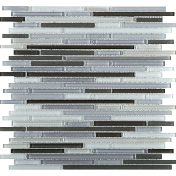Infinity Random Sized Glass Mosaic Tile in Era by Emser Tile