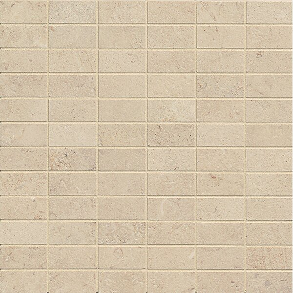Tribeca 1 x 2 Porcelain Mosaic Tile in Watts by Bedrosians