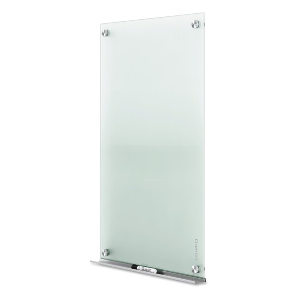 Quartet Infinity Wall Mounted Glass Board by Quartet®