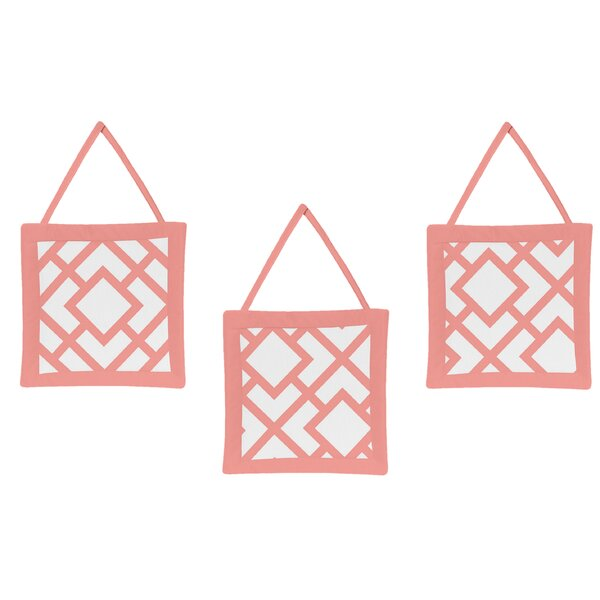 Mod Diamond Wall Hanging Art (Set of 3) by Sweet Jojo Designs