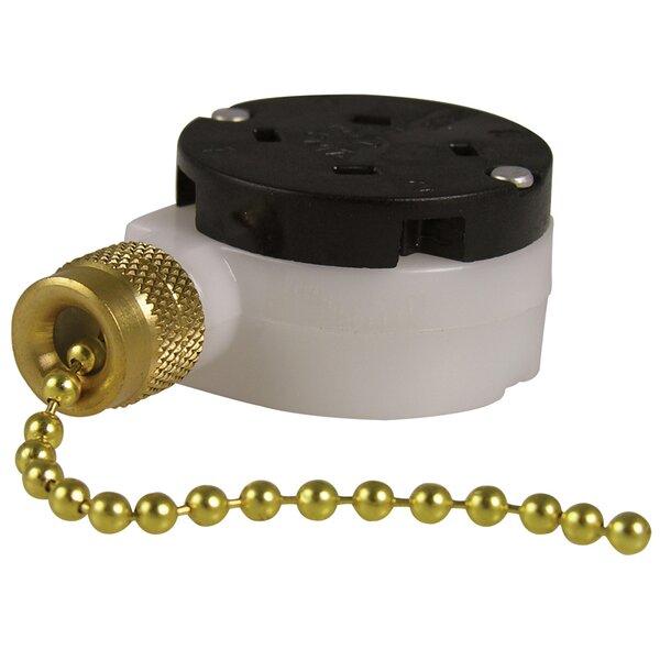 Three Speed Pull Chain Switch by Gardner Bender