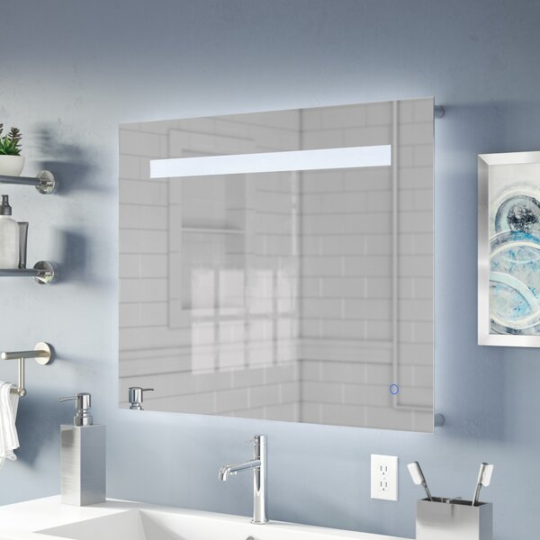 Naia LED Bathroom/Vanity Mirror by Orren Ellis