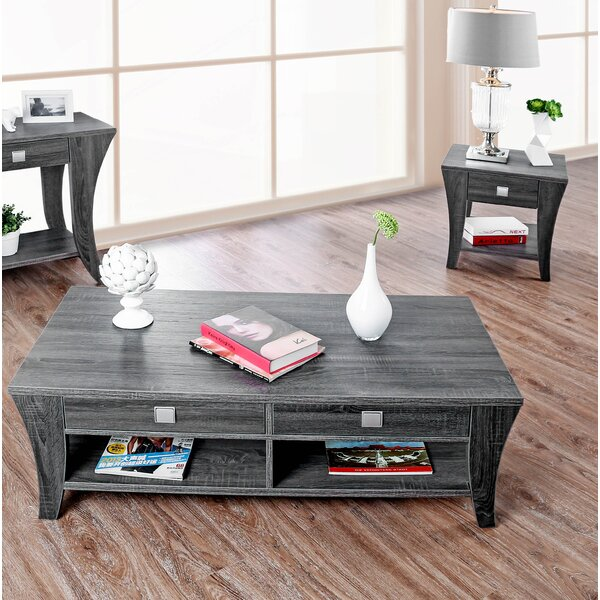 Mcnaughton Ami 2 Piece Coffee Table Set By Wrought Studio