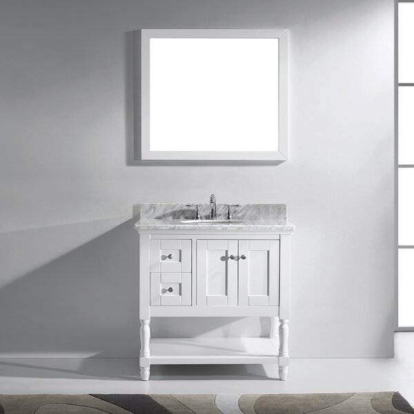 Cicely 36 Single Bathroom Vanity Set with Mirror by Gracie Oaks