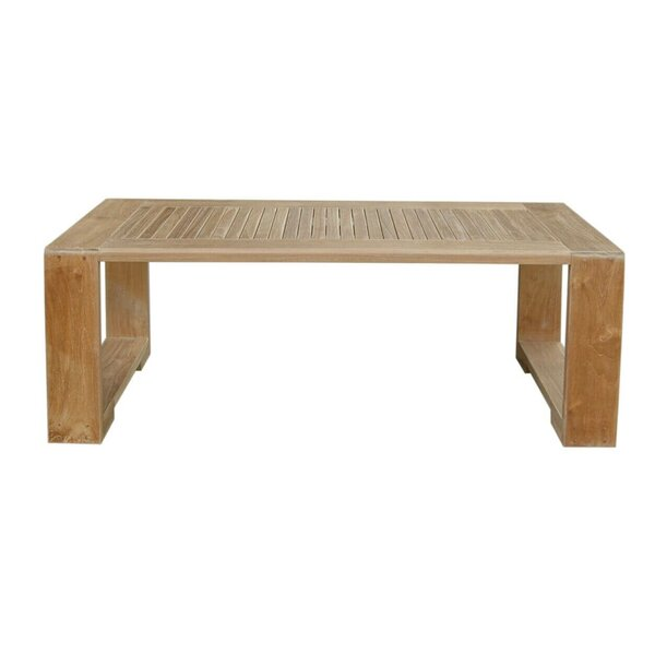 Lochlan Teak Coffee Table By Rosecliff Heights