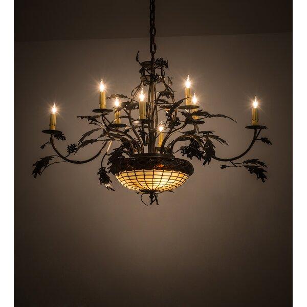 11 - Light Candle Style Tiered Chandelier by Meyda Tiffany Meyda Tiffany