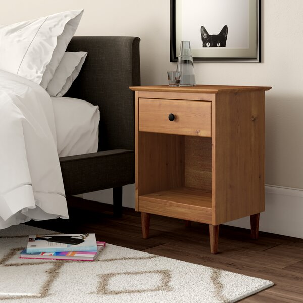 Lafave 1 Drawer Nightstand By Mercury Row