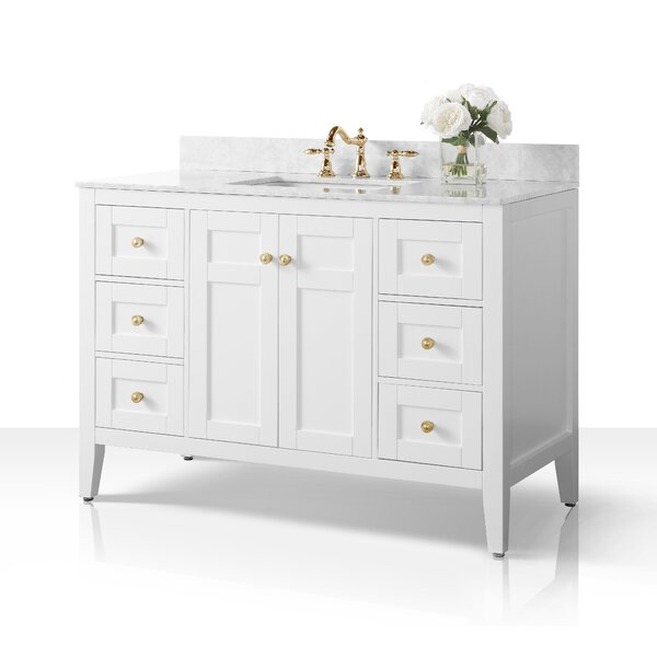 Fuller 48 Single Bathroom Vanity Set by House of Hampton