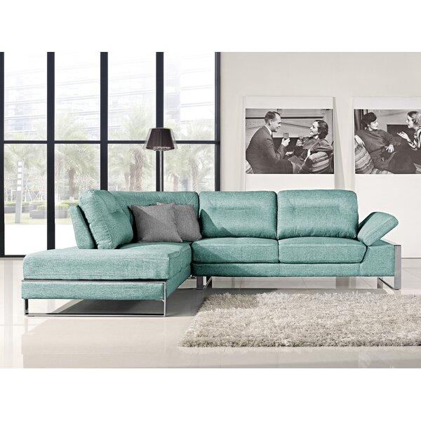Kealy Sofa Reclining Sectional by Orren Ellis