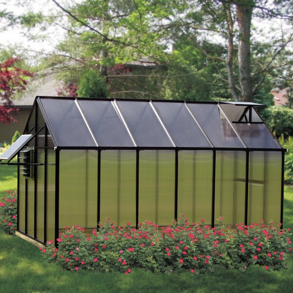 Monticello Mojave 8.1 Ft. W x 12.2 Ft. D Greenhouse by Riverstone Industries