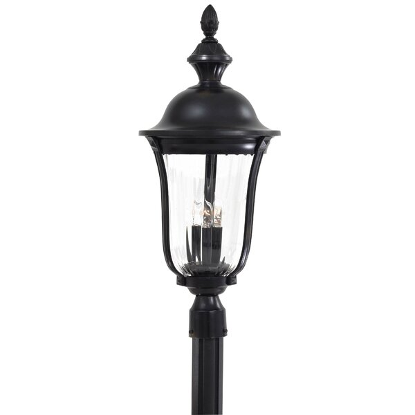Traditional Outdoor 3-Light Lantern Head by Latitude Run