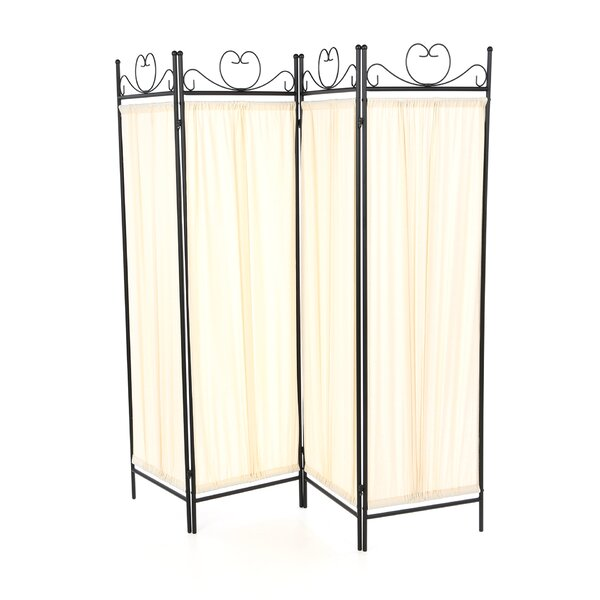 Port Angeles Butterfly 4 Panel Room Divider by Wildon Home ®