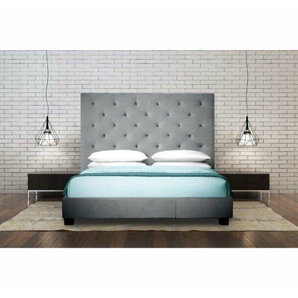 Yogyakarta Upholstered Panel Headboard by Brayden Studio