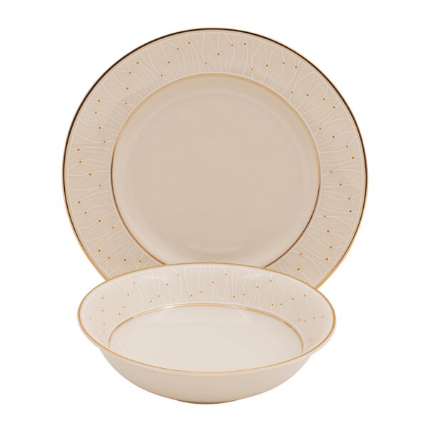 Palace Ivory China 24 Piece Completer Set by Shinepukur Ceramics USA, Inc.