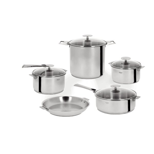 Casteline 13-piece Stainless Steel Cookware Set by Cristel