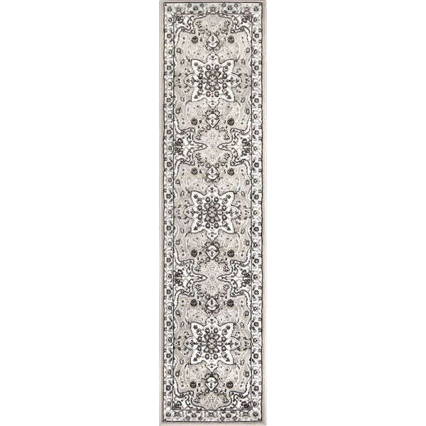 Arend Gray/Cream Area Rug by Charlton Home