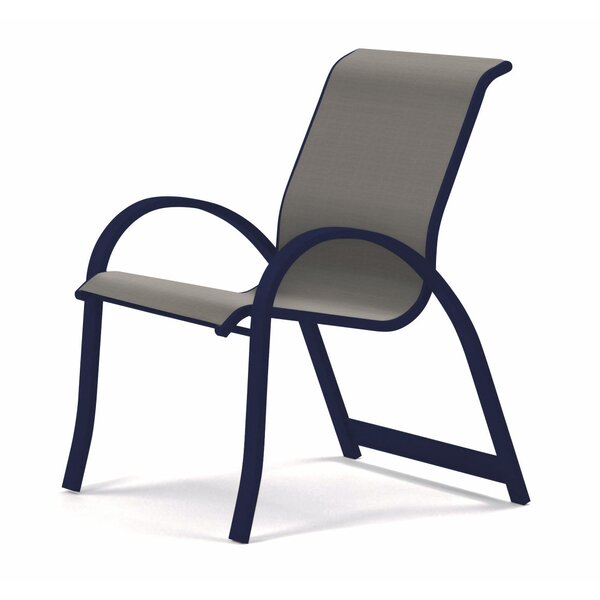 Aruba II Sling Stacking Patio Dining Chair by Telescope Casual Telescope Casual