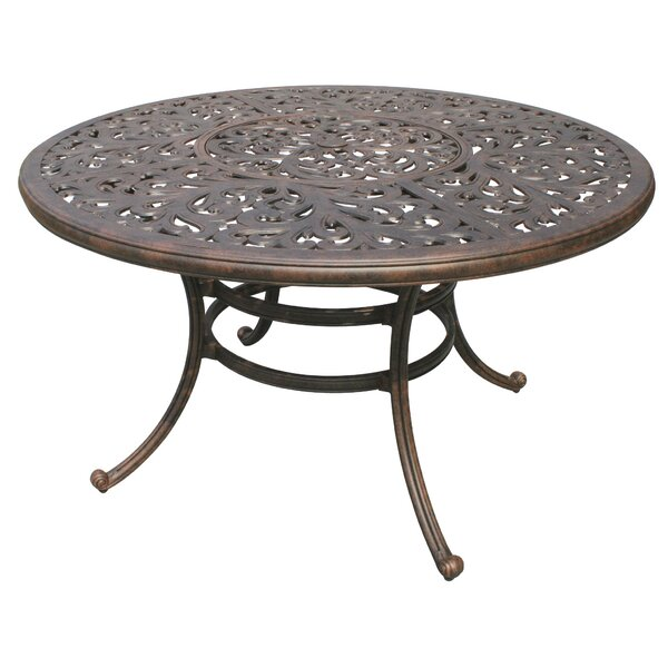 Fairmont Traditional Metal Frame Dining Table by Astoria Grand